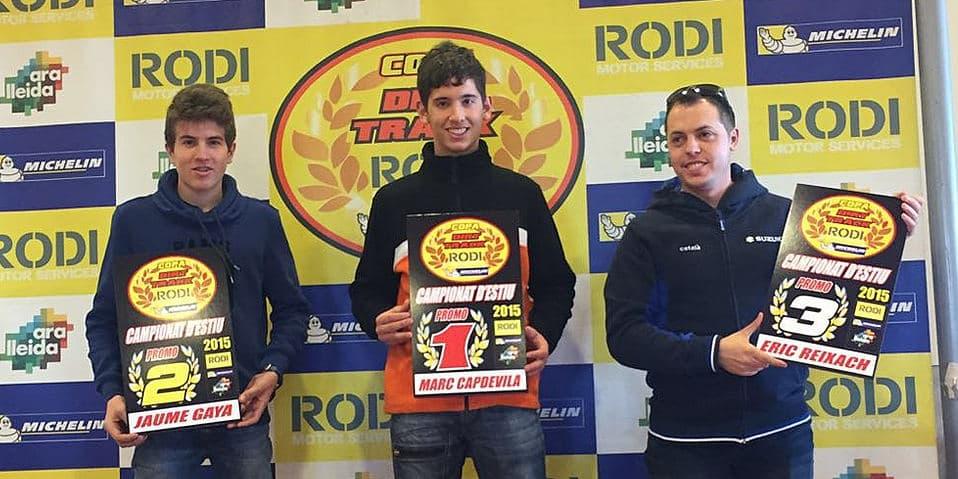 Guanyadors categoria Promo Copa Rodi Dirt Track 2015