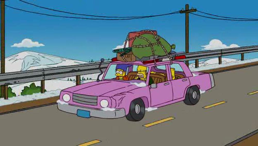 Cotxe dels Simpson