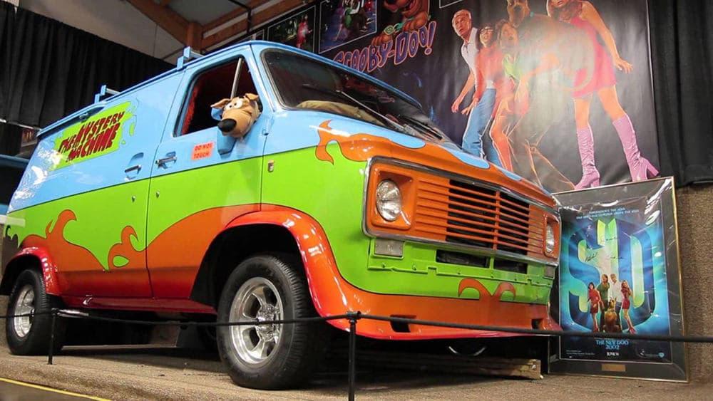 Cotxe Mystery Machine Scooby-Doo