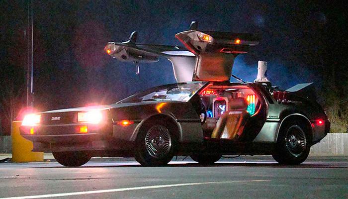"""Cotxe """"Retorn al Futur"""", Delorean"""