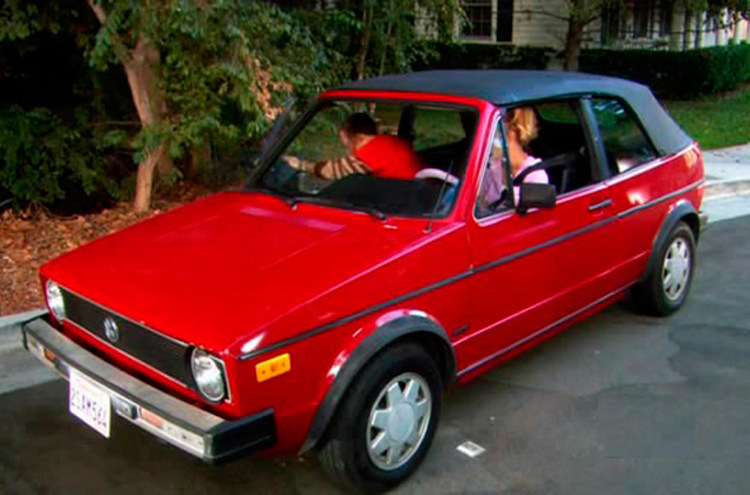 Cotxe The Bing Bang Theory, Volkswagen Golf Cabriolet