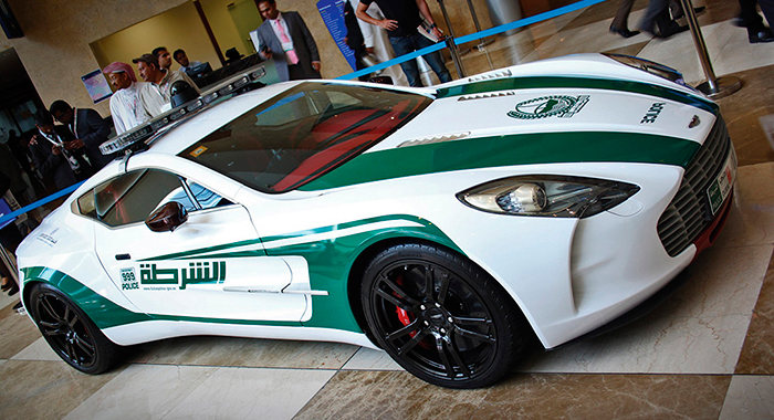 Cotxe de Policia Aston Martin One-77