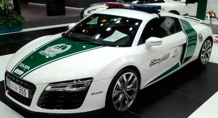 Cotxe de Policia Audi R8