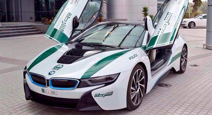 Cotxe de Policia BMW i8