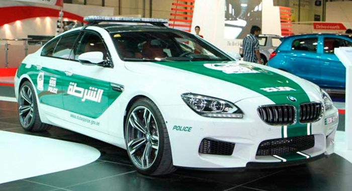 Cotxe de Policia BMW M6 Gran Coupe