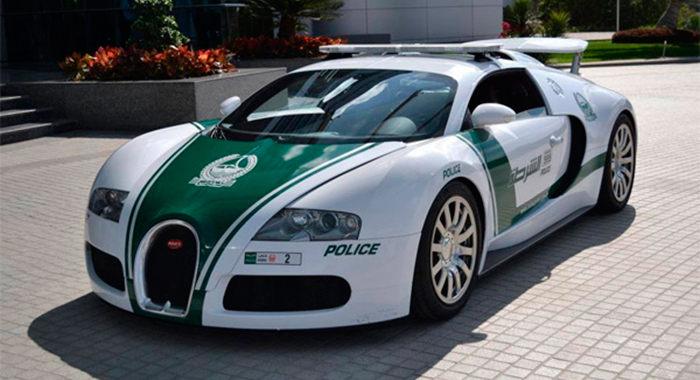 Cotxe de Policia Bugatti Veyron