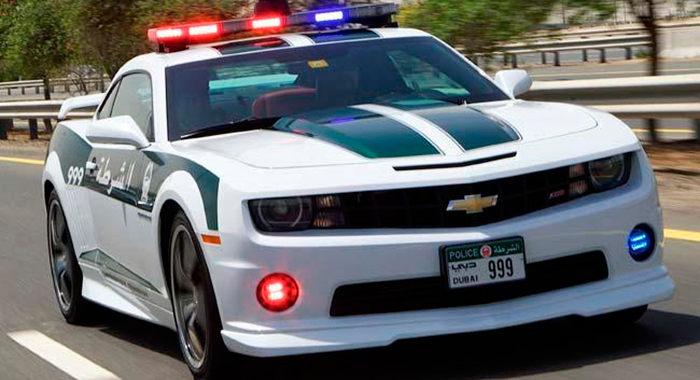 Cotxe de Policia Chevrolet Camaro SS