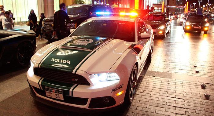 Cotxe de Policia Ford Shelby Mustang