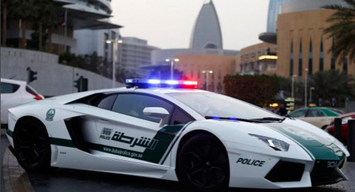 Cotxe de Policia Lamborghini Aventator