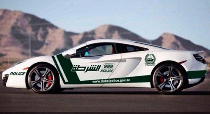 Cotxe de Policia McLaren MP4-12C