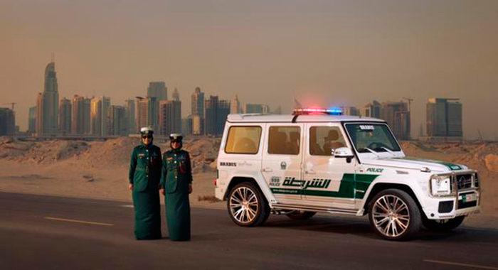 Cotxe de Policia Mercedes Benz G63 AMG