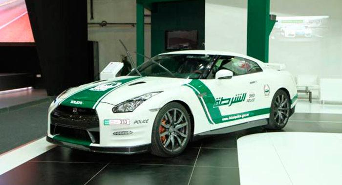 Cotxe de Policia Nissan GTR