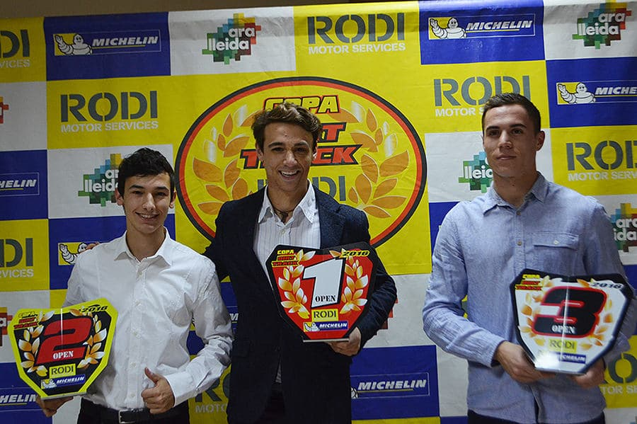 Guanyadors categoria Open Copa Rodi Dirt Track 2016