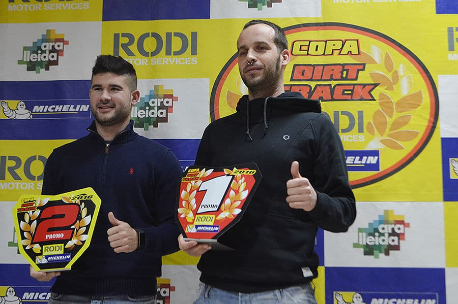 Guanyadors categoria Promo Copa Rodi Dirt Track 2016