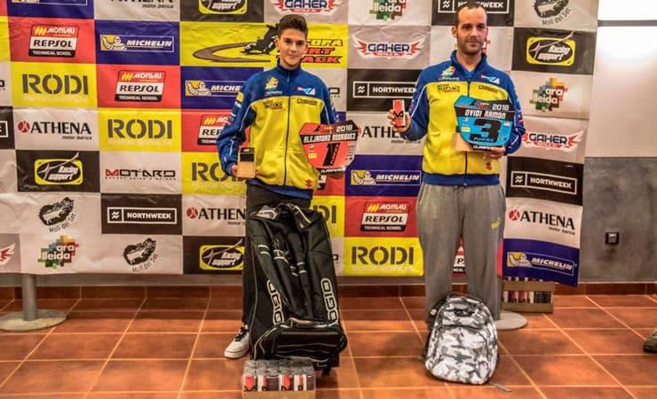 Guanyadors categoria Fullrace Copa Rodi Dirt Track 2018