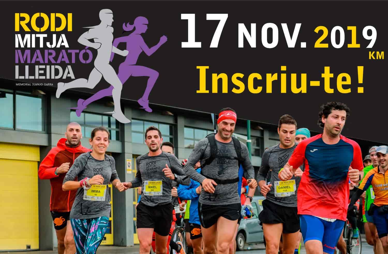 Inscriu-te a la Rodi Mitja Marató Lleida