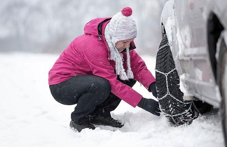 cadenes neu cotxe hivern