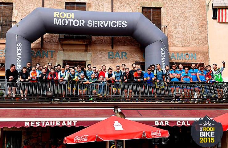 participants rodibike 2015 bicicletes