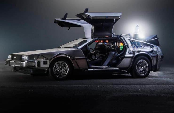 cotxe delorean retorn al futur