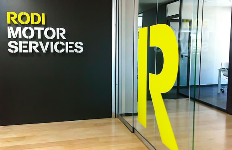 entrada porta oficina empresa rodi motor services