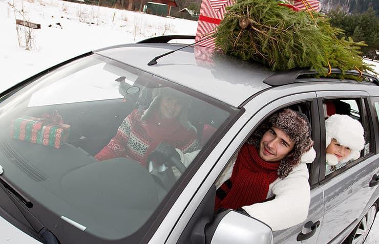 familia cotxe nadal