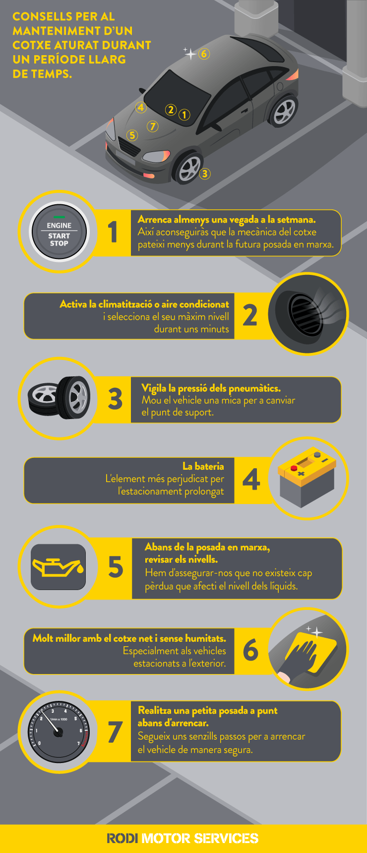 consells manteniment cotxe pasos