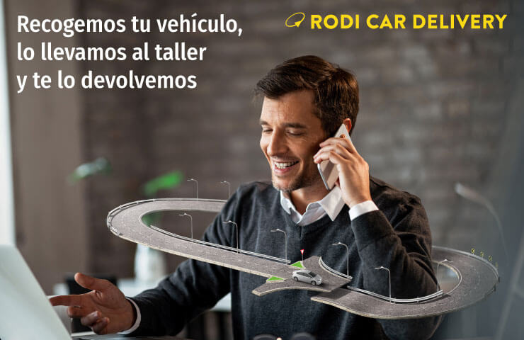 rodi car delivery servicio a domicilio